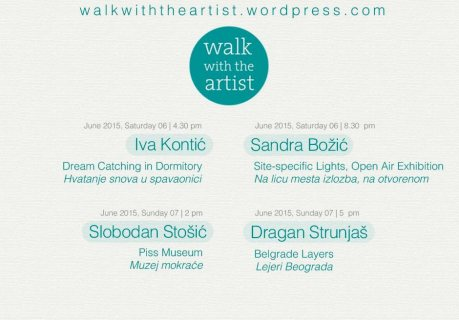 Walk with the artist - program