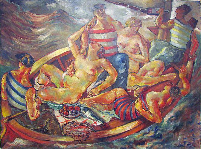 Pijani brod, 1927.