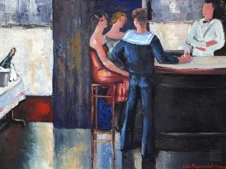 Bar u Parizu, 1929