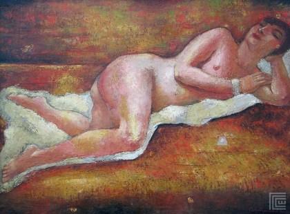 Jutro (Ležeći ženski akt) 1929,