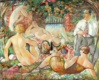 Doručak na travi, 1927