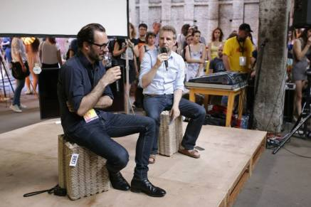 Mikser festival 2015 Konstantin Grcic i Jan Boelen