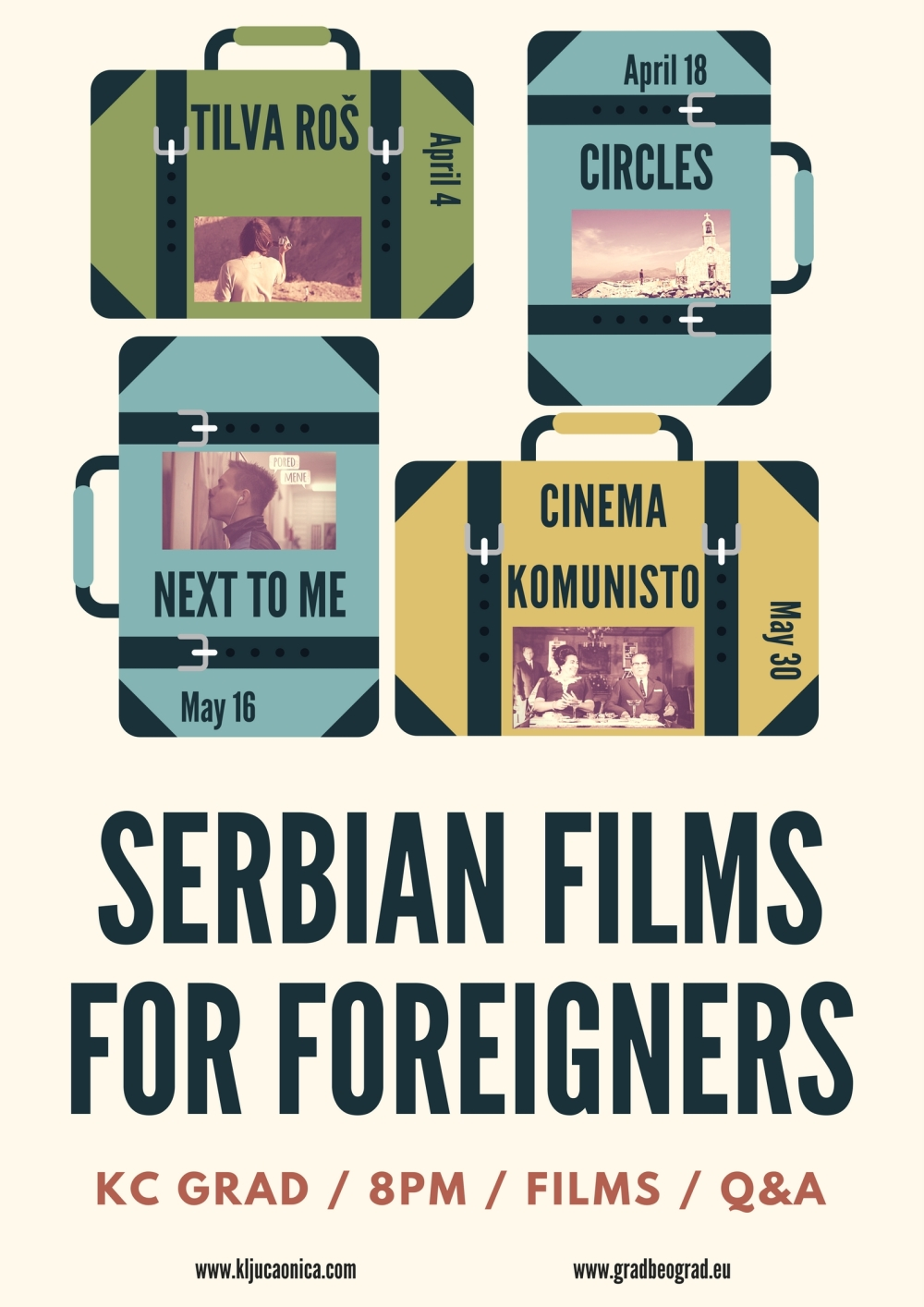 Serbian Films For Foreigners - poster