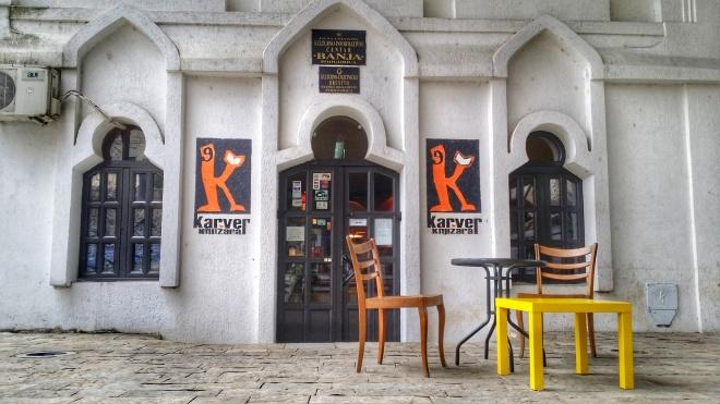 Karver Bookstore, Podgorica, MNE