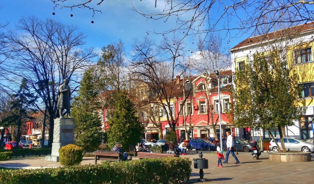 Marko Miljanov Monument + Bokeska Street, Podgorica, MNE