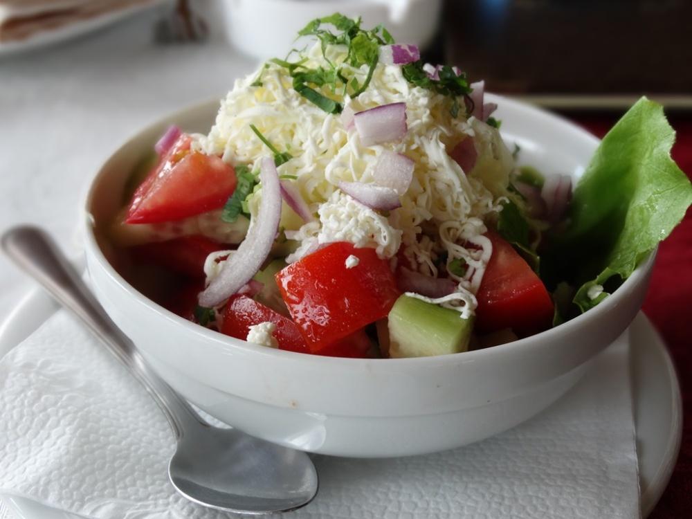 Šopska salad 01, Niš, Serbia