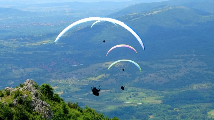 Paragliding, Niš, Serbia 02
